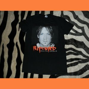 Keith Urban Tour Shirt 2016 Ripcord